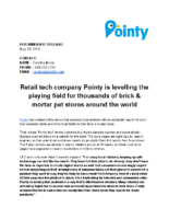 Retail Tech Company Pointy Is Levelling the Playing Field for Thousands of Brick & Mortar Pet Stores Around the World