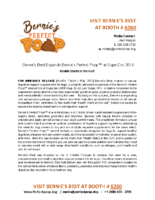 Bernie's Best Expands Bernie's Perfect PoopTM at SuperZoo 2019