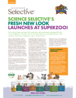 Science Selective's Fresh New Look Launches at SuperZoo