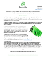 Handson® Gloves Unveils Next Generation of De-Shedding Tools
