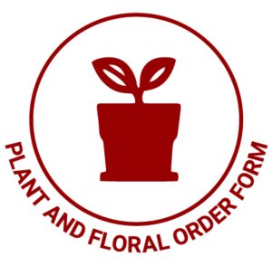 Plant and Floral Order Form
