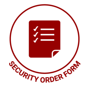 Security Order Form